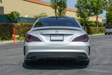 Load image into Gallery viewer, Mercedes Benz C117 CLA Class Carbon Fiber Trunk Spoiler