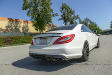 Load image into Gallery viewer, Mercedes W218 CLS AMG Style Carbon Fiber Trunk Spoiler