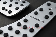 Load image into Gallery viewer, Porsche Brushed Aluminum Pedals