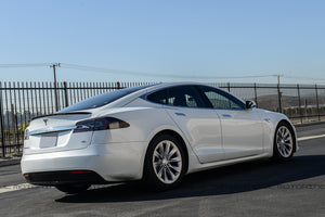 Tesla Model S Carbon Fiber Trunk Spoiler