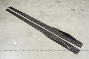 GT Carbon Fiber Side Skirts