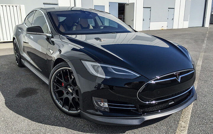 Tesla Model S Carbon Fiber Front Lip