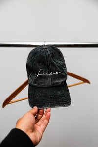 Vintage Embroidered Twill Cap - Levitate Collection