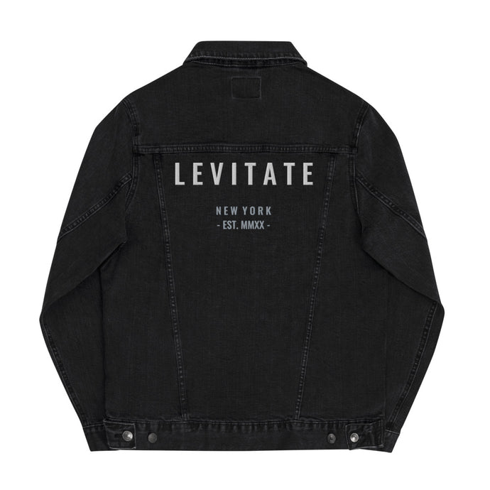 PRE-ORDER Embroidered Denim Jacket - Levitate Collection