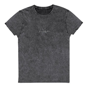 PRE-ORDER Embroidered Washed T-Shirt - Levitate Collection