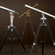 Antique Brass Telescope - Casey & Company Bespoke Design