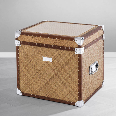 Rattan Flight Case - Casey & Company Bespoke Design