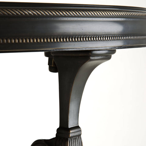 Black Side Table L - Casey & Company Bespoke Design