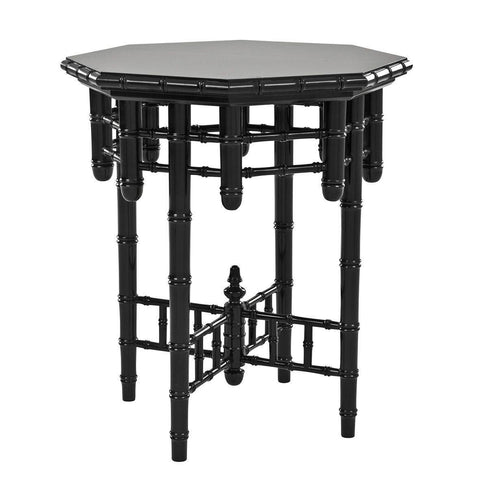 Black Side Table - Casey & Company Bespoke Design