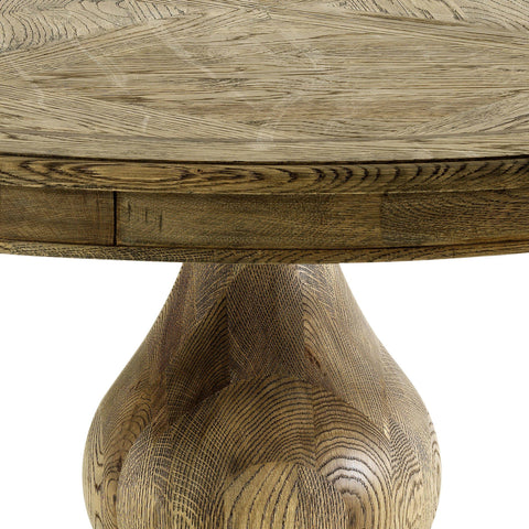 Round Wood Dining Table - Casey & Company Bespoke Design