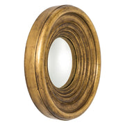Concave Round Gold Mirror - Casey & Company Bespoke Design