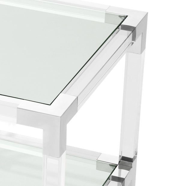 Acrylic Side Table - Casey & Company Bespoke Design