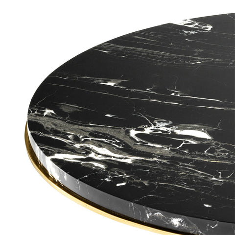 Gold Side Table - Casey & Company Bespoke Design