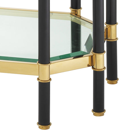 Gold Frame Console Table - Casey & Company Bespoke Design