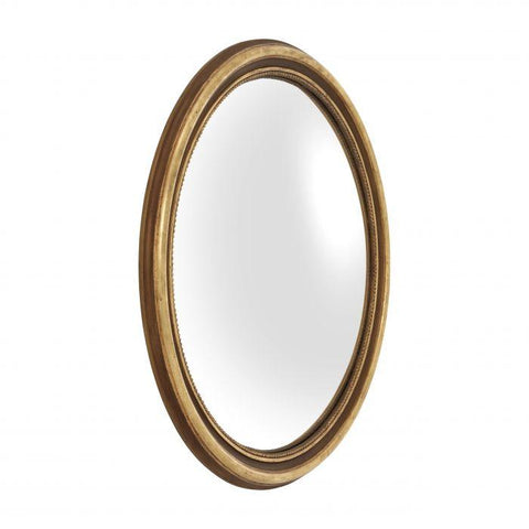 Gold Round Concave Mirror - Casey & Company Bespoke Design
