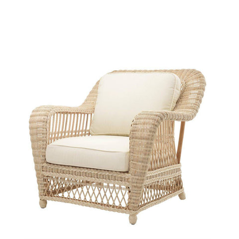 Natural Rattan Accent Chair - Casey & Company Bespoke Design
