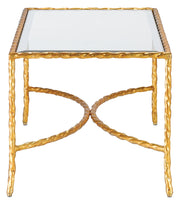 Gilt Twist Cocktail Table - Casey & Company Bespoke Design