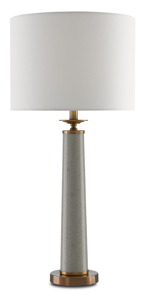 Rhyme Gray Table Lamp - Casey & Company Bespoke Design