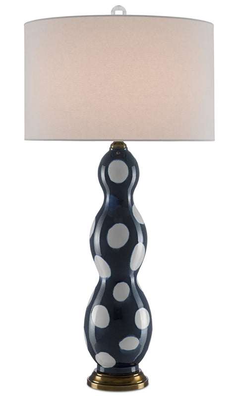 Yoshis Blue Table Lamp - Casey & Company Bespoke Design