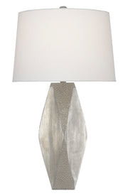 Zabrine Nickel Table Lamp - Casey & Company Bespoke Design
