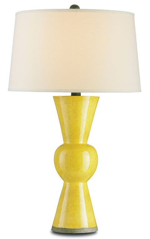 Upbeat Yellow Table Lamp - Casey & Company Bespoke Design