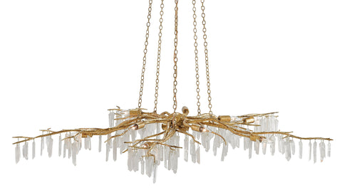 Forest Light Gold Chandelier - Casey & Company Bespoke Design