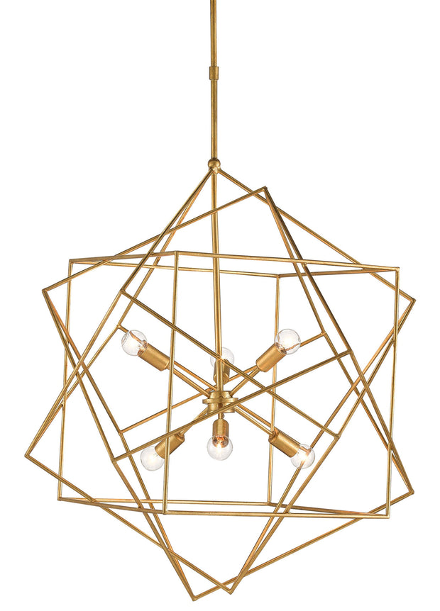 Aerial Gold Chandelier - Casey & Company Bespoke Design