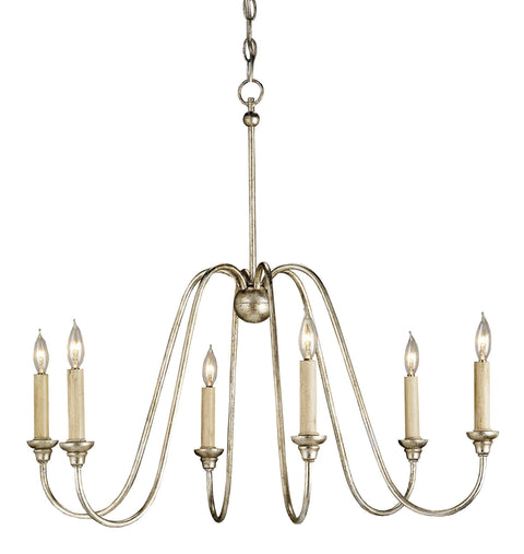 Orion Silver Small Chandelier - Casey & Company Bespoke Design