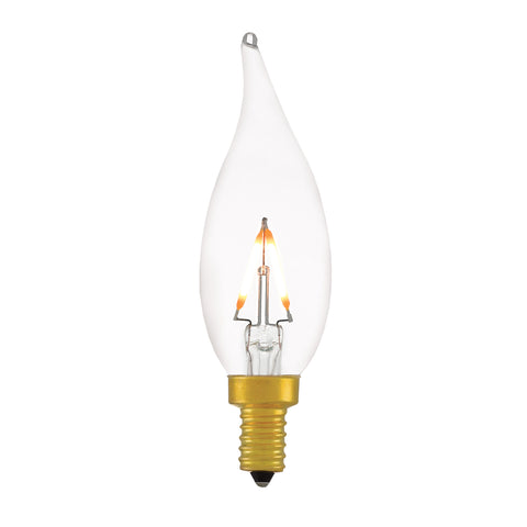 Small Flame Tip E12 Tala LED Light Bulb - Casey & Company Bespoke Design