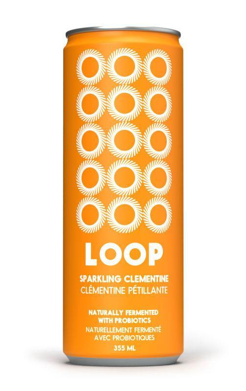 Orange Clementine - Probiotic Soda - LOOP Mission
