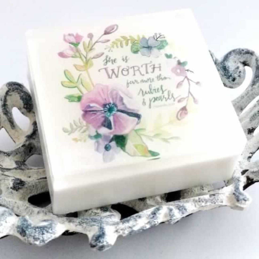 Ecomodbox Soap - A Sweet Friendship Refreshes the Soul - Prov 27:9
