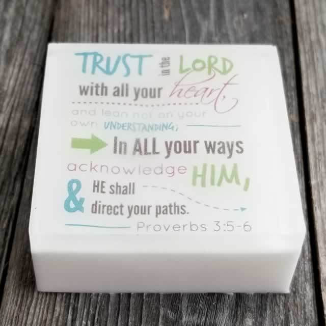 Ecomodbox Soap - Trust In The Lord