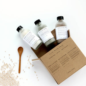 Organic Clay Mask Trio Set (Eco Mod Box Favorite)