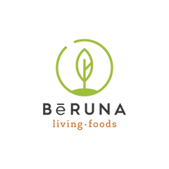 BeRUNA Black on White Logo