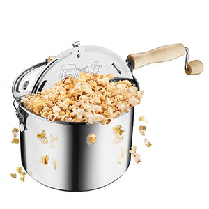 STAINLESS STEEL | WHIRLEY-POP | STOVETOP POPCORN POPPER