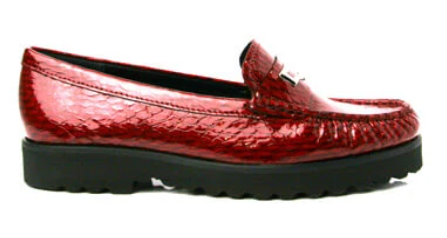Red Loafers by Karen Koo