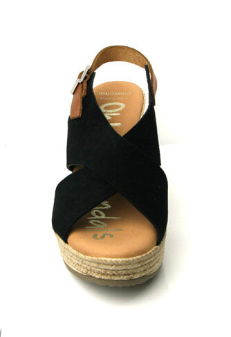 Oh my sandals! 4605BLK - High sandal