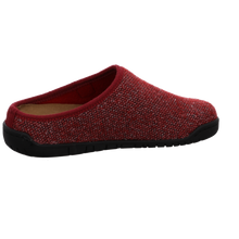 Load image into Gallery viewer, Red backless slipper