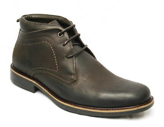 Anatomic Gel Afonso-Laced leather boot