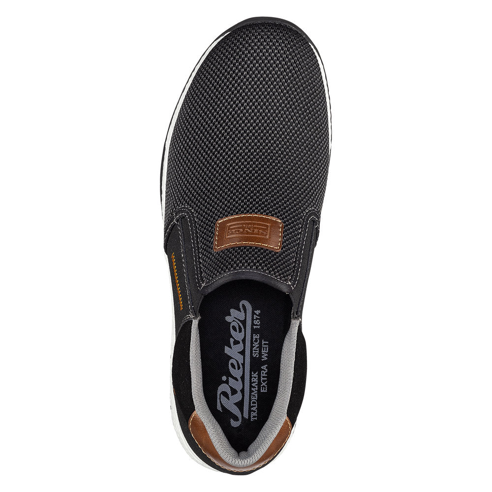 Rieker B345000 - Slip on, Extra Wide Fit