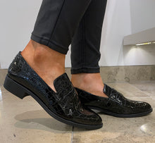 Load image into Gallery viewer, Unisa Barberblk- Loafer