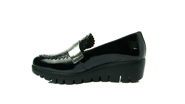 Wonders C33223blk- Wedge shoe