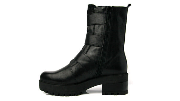 Wonders E6110blk- Ankle boot