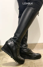 Load image into Gallery viewer, Marco Moreo L234BLK- Wedge tall boot
