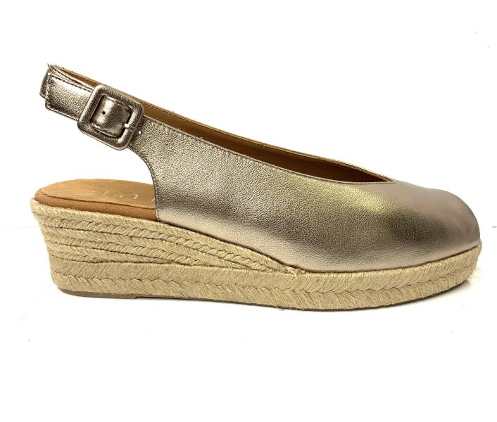 Unisa Casbasmum- Sling Back Wedge