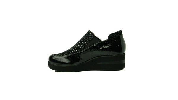 Marco Moreo L504BLK- Wedge shoe