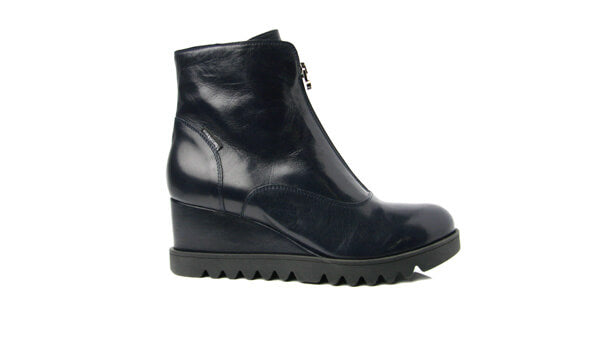 Marco Moreo L677BLU- Wedge ankle boot