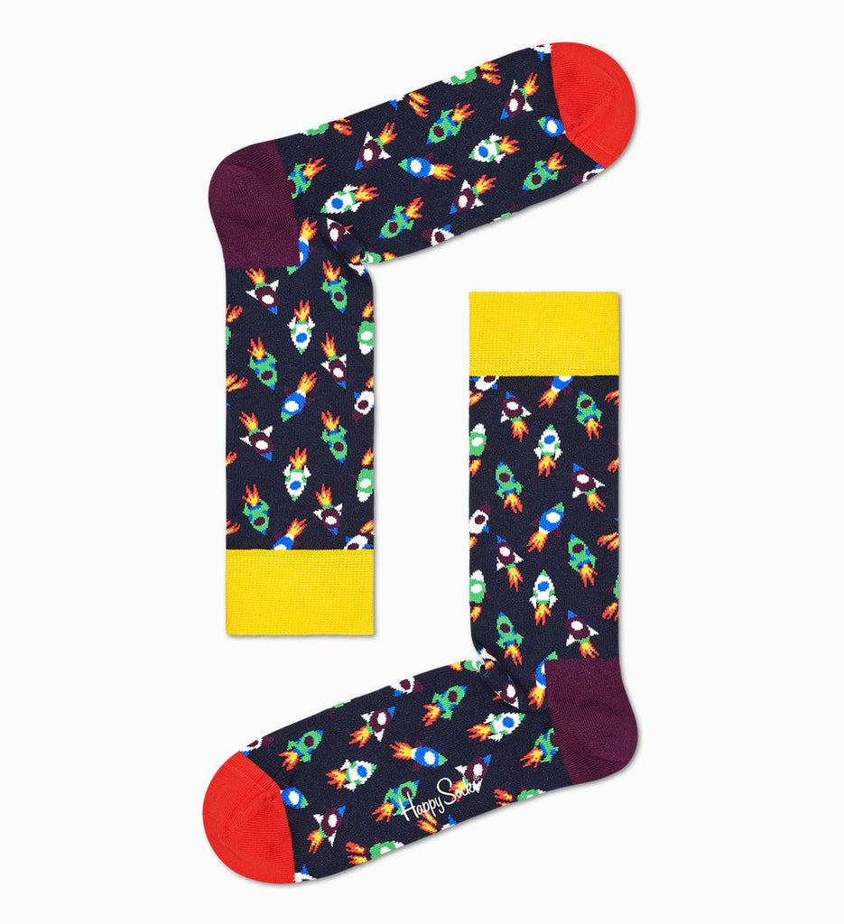 Happy Socks - Men Rocket Sock