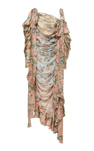 Zimmermann Unbridled Elixir Silk Dress