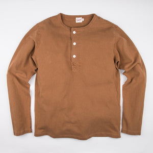 13 oz Henley in Tobacco